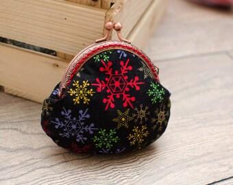Coin purse/coin holder/cotton purse/christmas