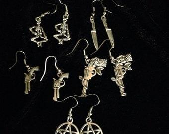 Deadly earrings