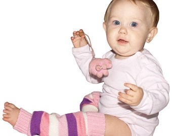 Hand-knitted Leg Warmers Baby Gaiters