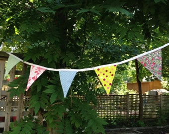 Florals and Spots Bunting