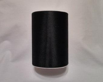 Black Tulle, Black Tulle Roll, Black Tulle 100 yards, 6 inch tulle, 6 inch tulle roll, Tulle, Tulle Fabric, Tutu Tulle, Wedding Tulle