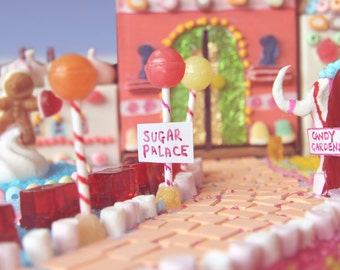Fine art photography print - Candyland, wall decor, food, sweets, print, poster, surreal