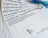 Sensory Story Ideas Cards. Den building art activity