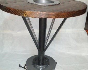 Automotive Themed Custom Man Cave or Garage Table!