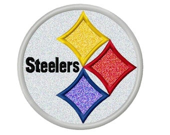 Steelers Applique Embroidery Design 3x3 4x4 5x5 6x6 INSTANT DOWNLOAD