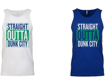 Straight Outta Dunk City Tank Top