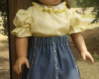 18 inch doll outfit, American Girl doll clothes, american girl doll dress, american girl doll clothing