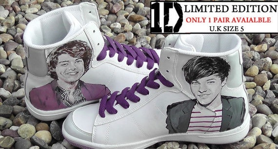 One Direction Custom Nike Blazers Size 5 UK Harry Styles