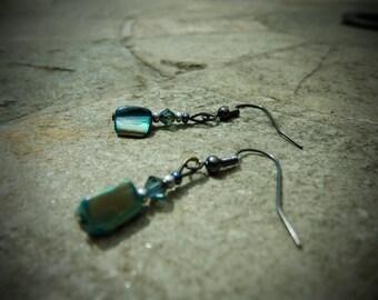 Blue Mix Earrings