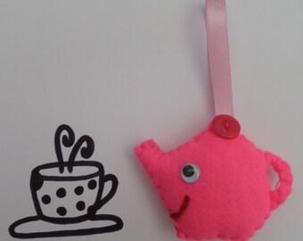 Teapot Felt Decoration