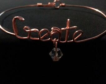 Custom Wire Bracelet