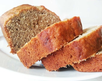 Banana nut bread - Gluten free option available