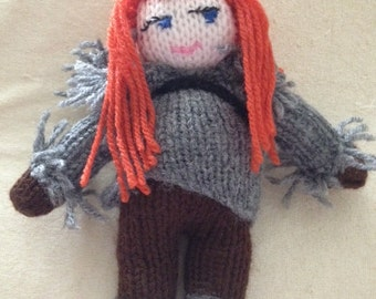 Game of Thrones Knitted Character Ygritte