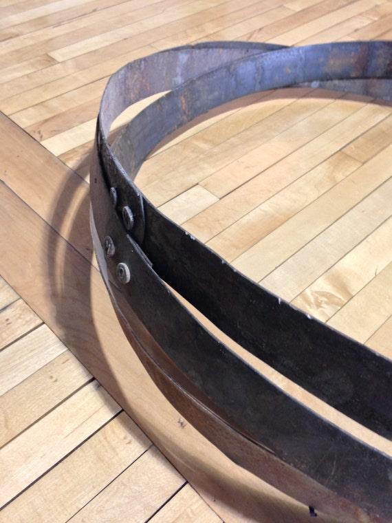 3 Pack Whiskey Barrel Metal Hoop Band Rings