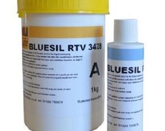 Silicone Rubber RTV - Bluesil 3428 Mouldlife Food Safe Moulding - size choice