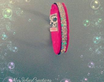 Girly Pink bracelet