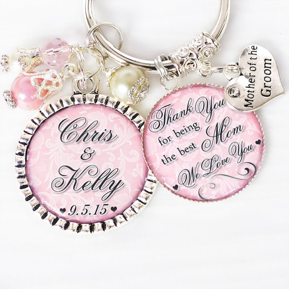 Wedding Gifts for ParentsWedding KeychainMother of the Groom or ...
