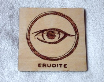 Erudite Coaster