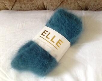 Elle Heavenly 80% Pure Angora Socks - Vintage Discontinued