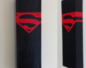 Superboy Canvas Painting