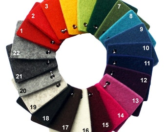3mm Thick Virgin Merino Wool Designer Felt