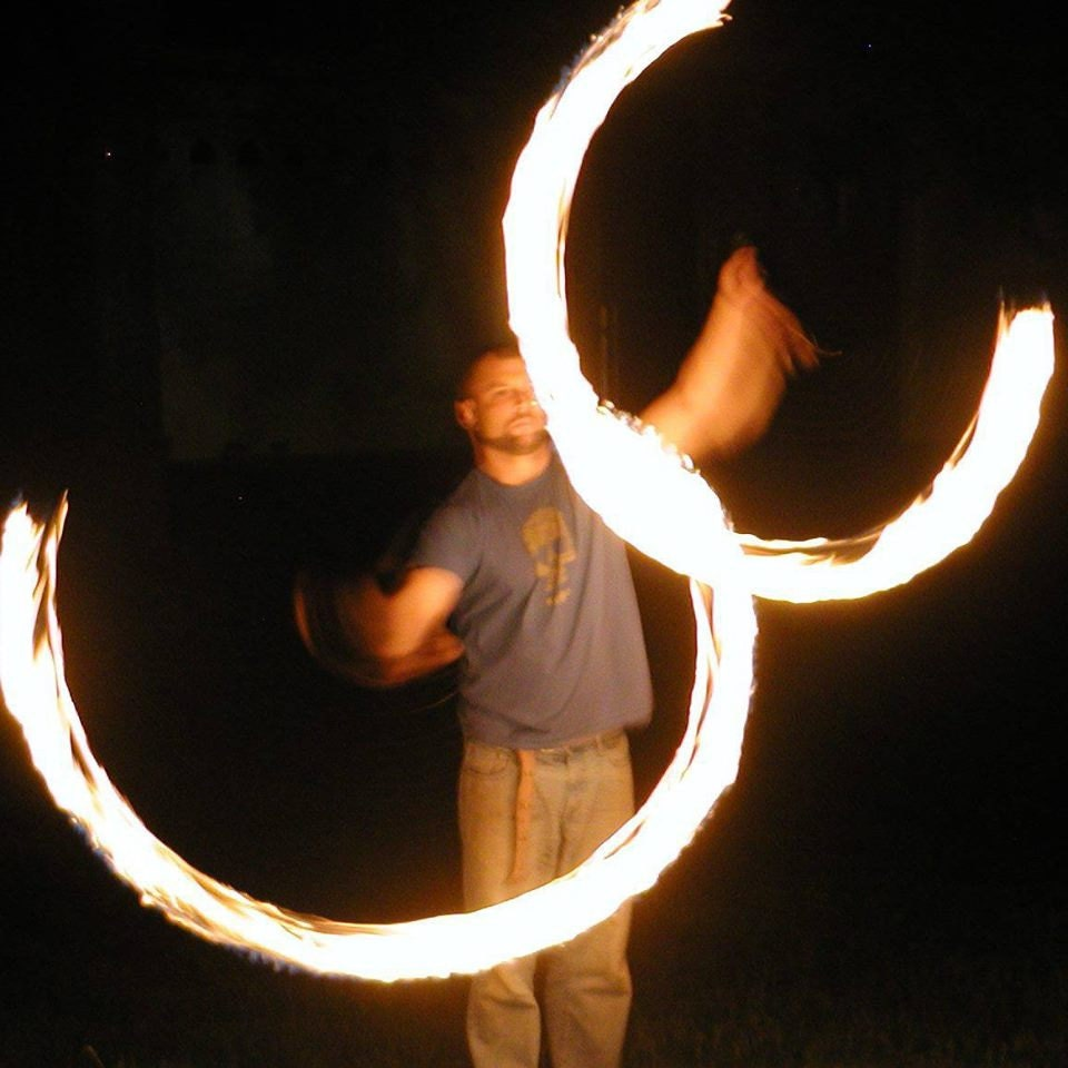 how to make fire eating torches