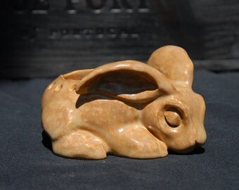 Sleeping Rabbit Candle Holder