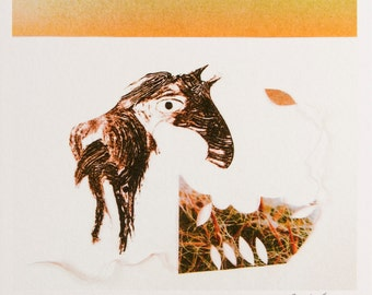 Print - Sunrise Horse