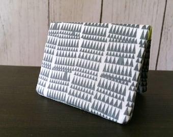 Card Wallet - Gray Crooked Teeth