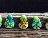 Lampwork Glass Ocean Starfish Beads