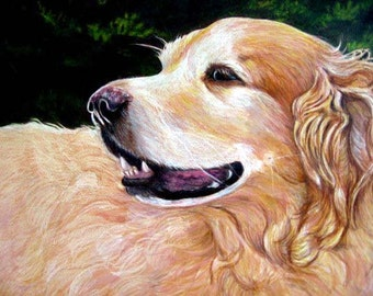 Custom Pet Portrait, Custom Dog Portrait Artist, Custom Portrait Art