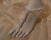 Beach Bride Barefoot Sandals Wedding Shoes