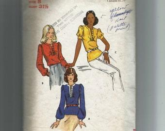 Butterick Misses' Blouse Pattern 3055
