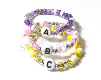 ONE Newborn Baby ID Bracelet Old Retro Hospital Style Name Bracelet You Choose color Identical Multiples Twins Triplets Quick ID Baby Anklet