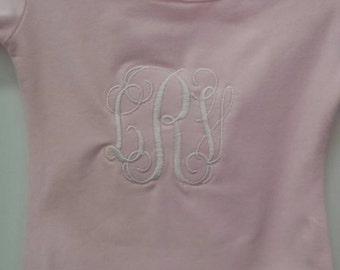 Boutique Monogrammed Ballet Short Sleeve Leotard-Ballerina Personalized