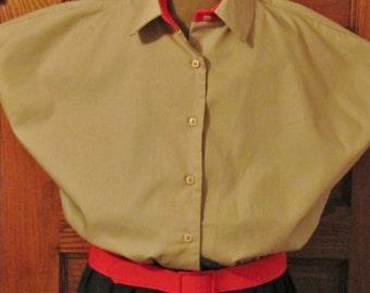 Jenni Sport Dress , Uniform style , retro