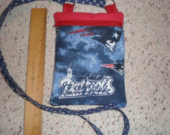 New England Patriots Football Print Hipster Cross Body Bag
