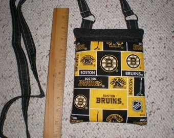 Boston Bruins Hockey Print Hipster Cross Body Bag