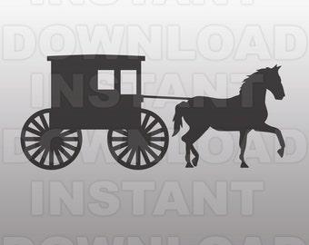 Amish Buggy And Farm Landscape Photography Pennsylvania Dutch