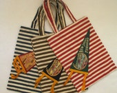 New Jersey Turnpike Pennant Flag Tote Bag-One of a Kind