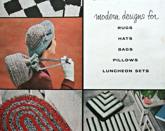 Crochet Patterns Home Star Crochet 115 Vintage Paper Original NOT a PDF