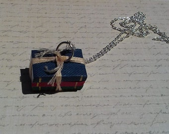 Book Lovers Charm Necklace