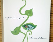 New African American Baby Boy Card - A Pea In A Pod