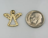 Gold Angel Charms