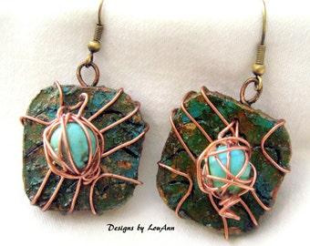 Gourd Dangle Earrings