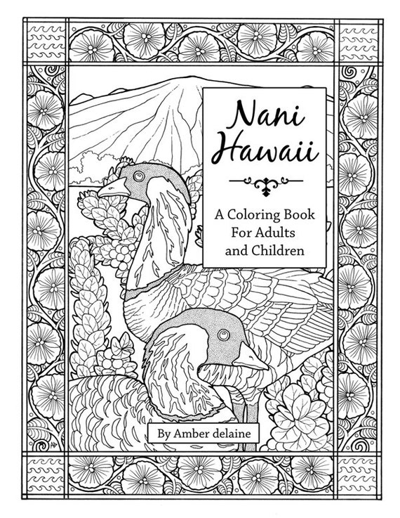 like this item - Hawaii Coloring Book