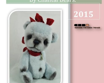 5 inches Teddy Bear pattern by Chantal Bears