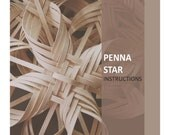 Woven Penna Star PDF digital instructions directions tutorial basket weaving instant download