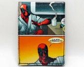 Sewn Comic Book Wallet - Deadpool Design 14