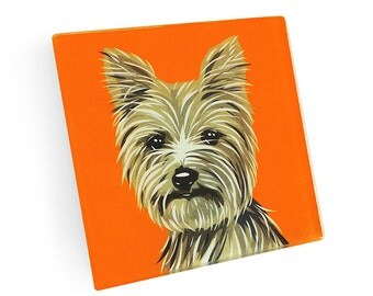 Set of 4 Yorkie Coasters